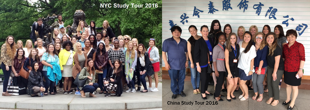 Students on NYC Study Tour